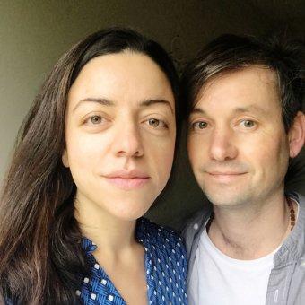 Emine and Paul Rushton