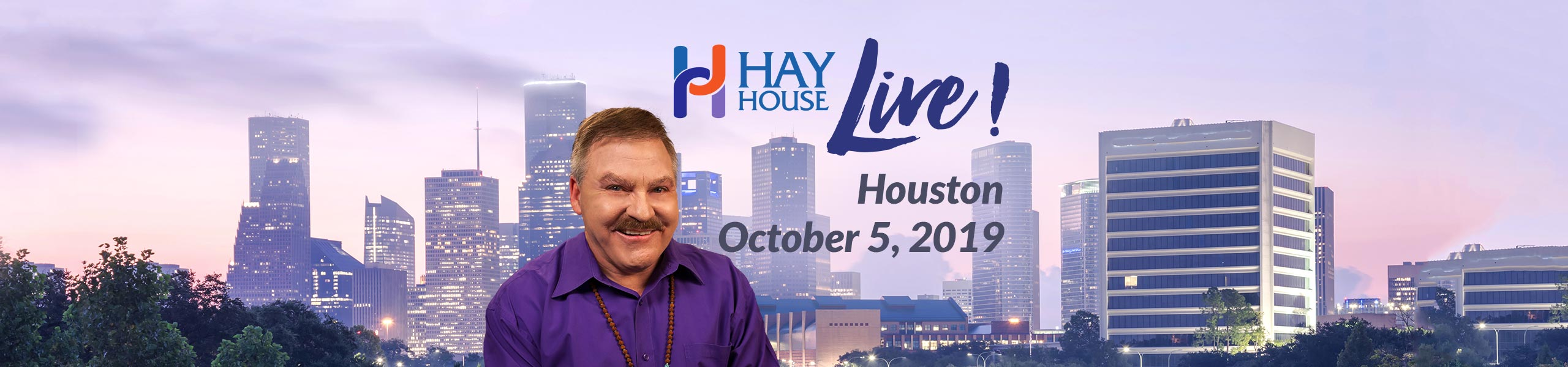 Hay House Live! Houston 2019 - James Van Praagh
