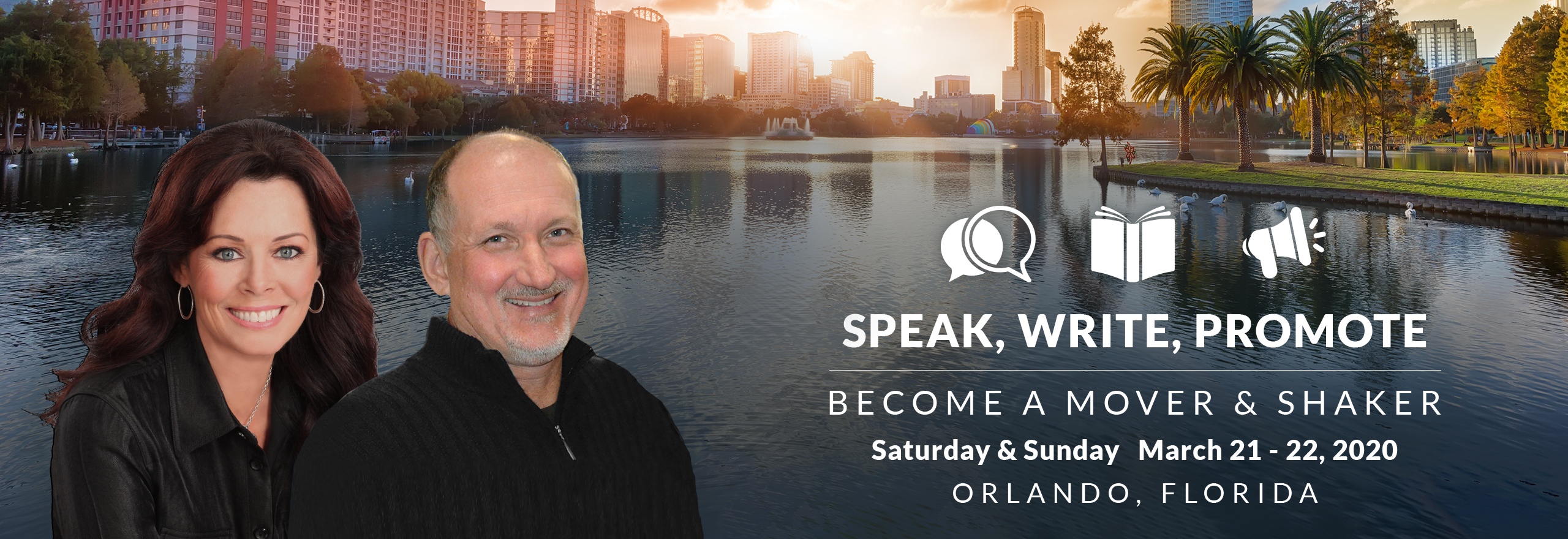 Speak, Write, Promote: Become A Mover and Shaker 2020 - Orlando