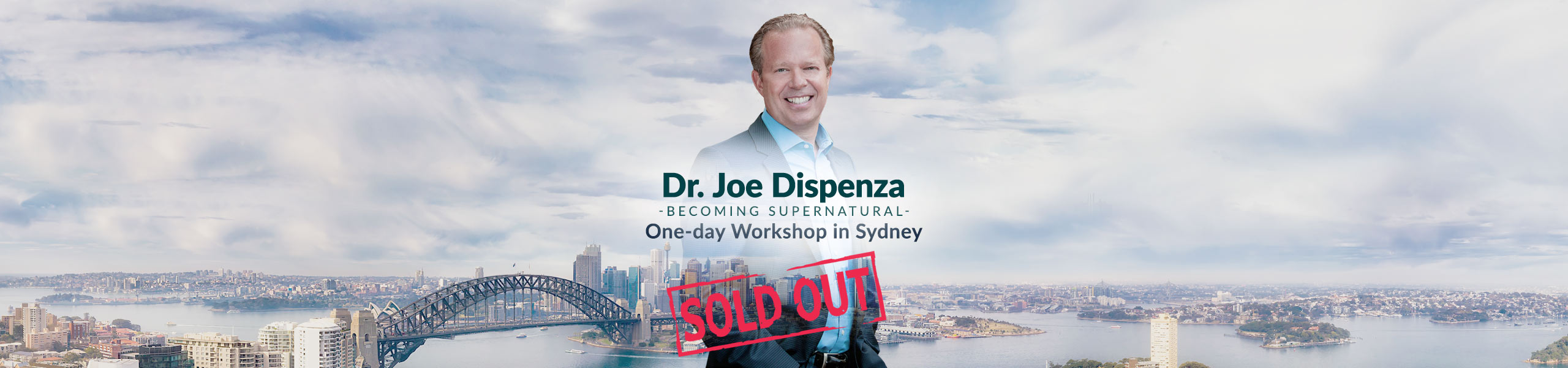 Dr. Joe Dispenza presents Becoming Supernatural