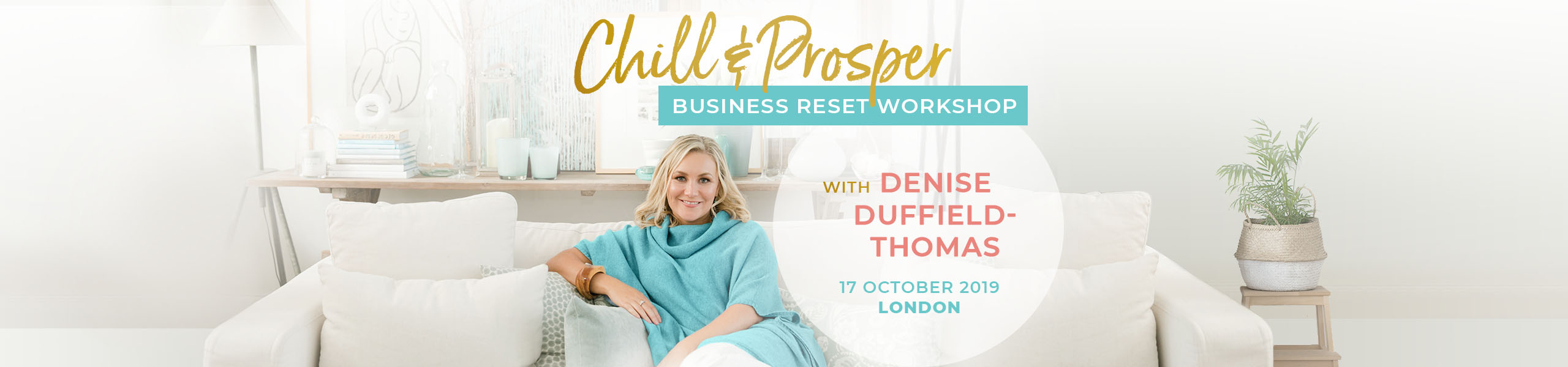 Chill & Prosper Business Reset Workshop